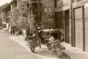 Vintage motorfietsen, China van
