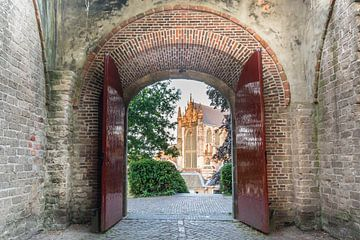 Hooglandsekerk, Leiden von Carla Matthee