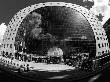 De Markthal in Rotterdam van Fokko Muller