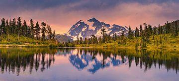 Mount Shuksan, Washington State, Verenigde Staten van Henk Meijer Photography