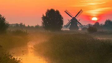 Noordermolen, Noorddijk, Groningen, Netherlands van