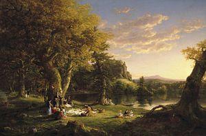 Das Picknick, Thomas Cole