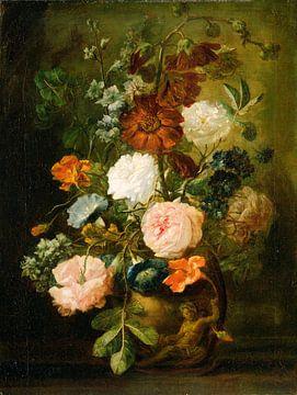 Blumenvase, Anhänger von Jan van Huysum