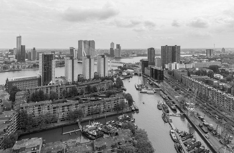 De Leuvehaven in Rotterdam van MS Fotografie   Marc van der Stelt