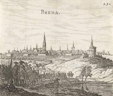 Beleg van Breda, 1624-1625, anoniem