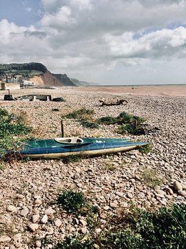 Sidmouth, Jurassic Coast in England Devon von Jokingly Kama