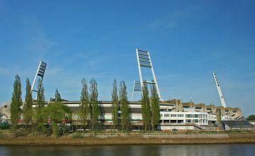 Old Weser Stadium Bremen Germany van Manuel Schulz