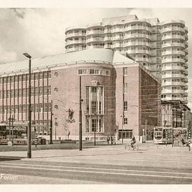 Oud ansicht Forum Rotterdam van Frans Blok
