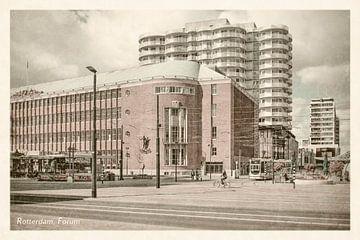 Oud ansicht Forum Rotterdam
