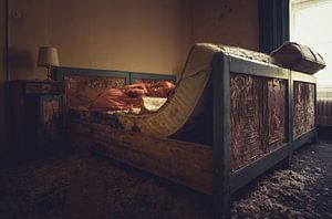 Slaapkamer in verval