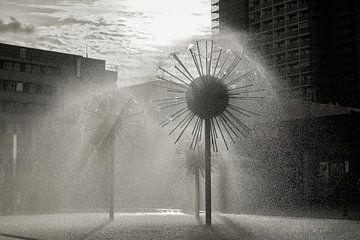 Springbrunnen in Dresden von Heiko Kueverling