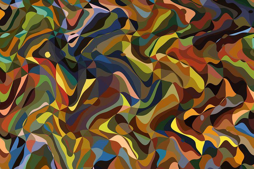 Abstrakt Nr. 13 von Marion Tenbergen