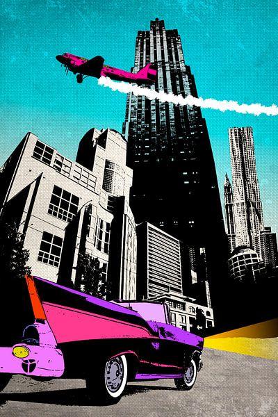 City-life von Rob van der Teen