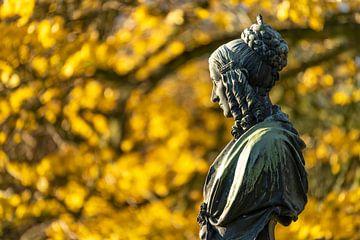 Dichteres Annette von Droste-Hülshoff van Peter Schickert