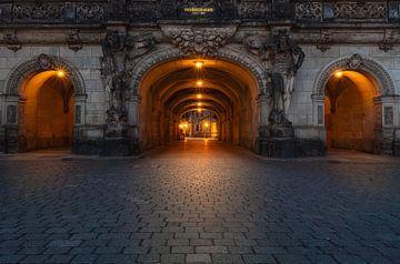 Das Georgentor in Dresden am frühen Morgen von Marc-Sven Kirsch