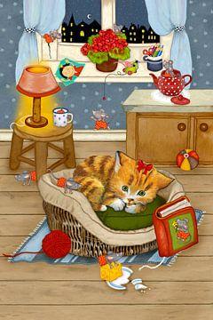 Mijn grappige kat Katinka van Marion Krätschmer