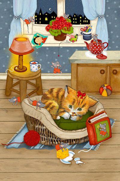 Meine lustige Katze Katinka von Marion Krätschmer