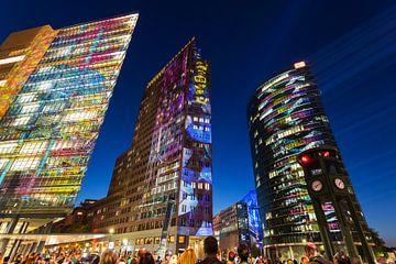 Potsdamer Platz Berlin in besonderem Licht von Frank Herrmann