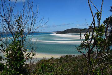 Landschap Whitsunday Eilanden van Bianca Bianca