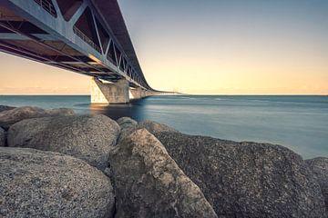 Öresundbrücke. Verbindet Schweden mit Dänemark. von Bart Sallé