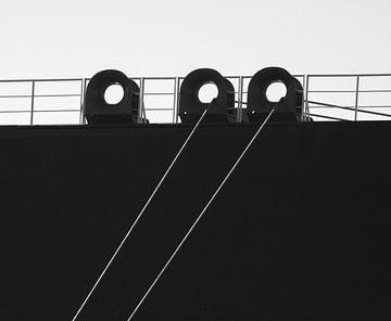 Im Hafen von Rotterdam von Scheepskijker_Havenfotografie