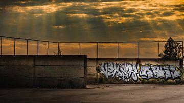 zonsondergang van Maurice Cobben