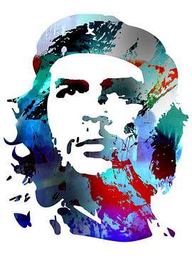 Che Guevara Abstract Portret