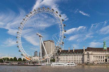 London Eye  van Jill De Neef