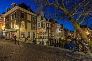 Gaardbrug en huizen Lijnmarkt, Utrecht van André Russcher