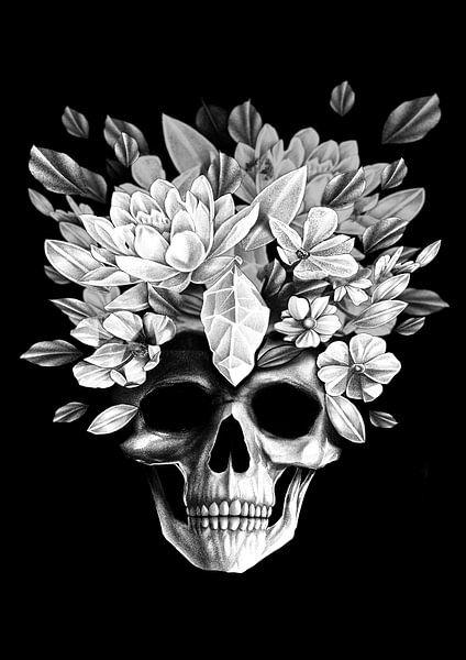 Preety Skull van Darkroom.ink