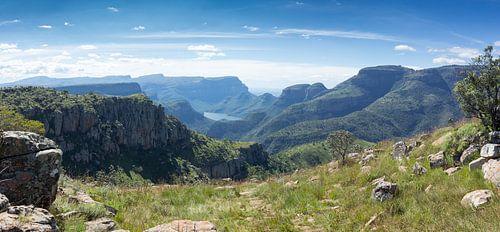 Blyde River Canyon, Zuid Afrika van