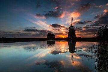 Mühle auf Texel Niederlande von AGAMI Photo Agency