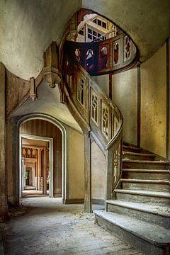 Verfallenes Château von Frans Nijland