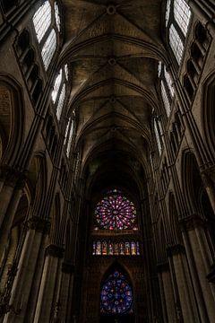 Kathedraal van Reims van Michael van der Tas