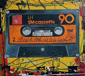 BASF Cassette Retro POP ART