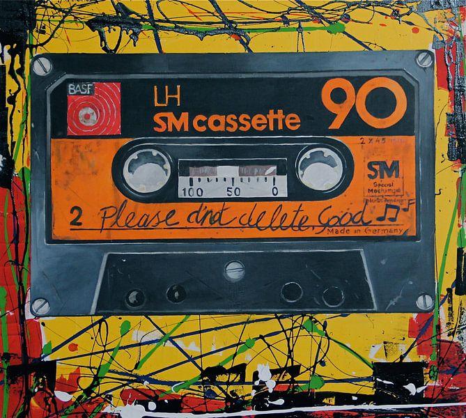 BASF Cassette Retro POP ART von Jeroen Quirijns