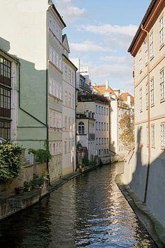 Kanal an der Stadtinsel Kampa in Prag von Heiko Kueverling