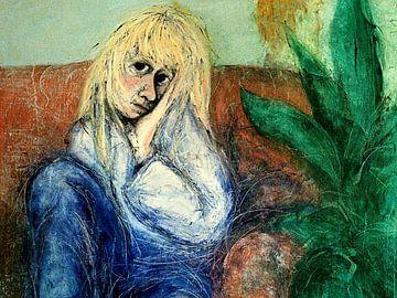 Ins blaue hinein van Anita Snik-Broeken