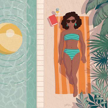 Beach Babes III, Janelle Penner van Wild Apple