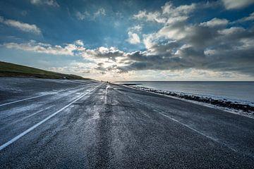 Zon over Noordzee