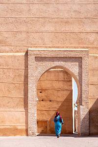 Vrouw in Marrakesh