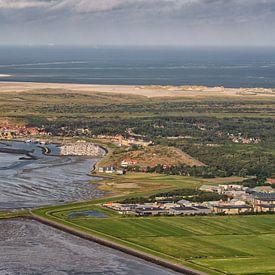 Dorf und Hafen West auf Terschelling von Roel Ovinge