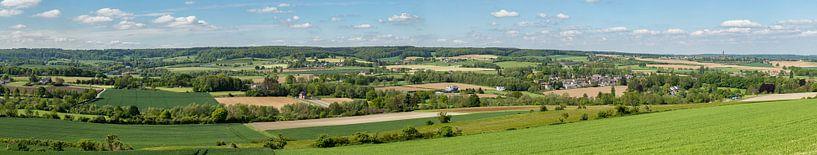 Panorama van de Gemeente Vaals van John Kreukniet