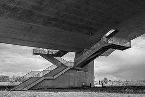 De Oversteek Nijmegen, trappen
