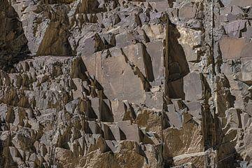paroi rocheuse dans l'Himalaya