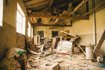 verlaten fabriek von Dylan Nieuwland