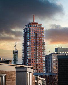 Alpha toren Enschede van Bas Leroy