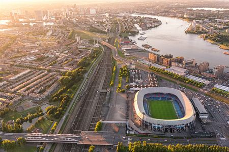 Luchtfoto Stadion Feijenoord - De Kuip - Feyenoord