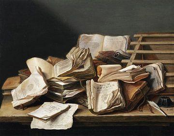 Stilleben mit Büchern, Jan Davidsz. de Heem
