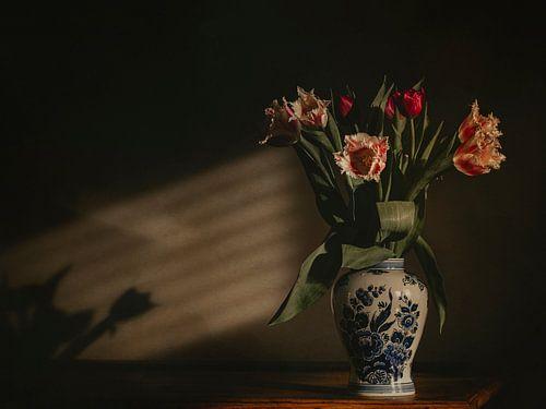 Tulpen in Delfts Blauw